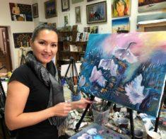 Открытие выставки «Воины Света» участников художественно-образовательного проекта «Творим вместе»
