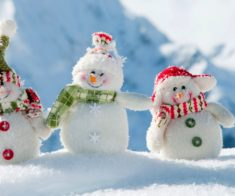 Конкурс на лучшего снеговика