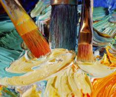 Детский мастер-класс по живописи акрилом