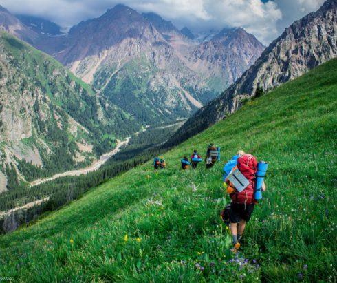 Поход Большая Алматинская Кругосветка