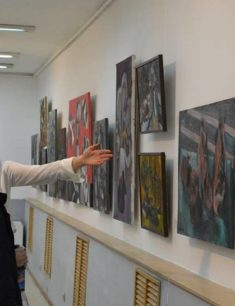 Выставка «Художественные окна»