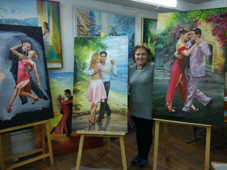 Выставка-Милонга «Дамы в Красном»