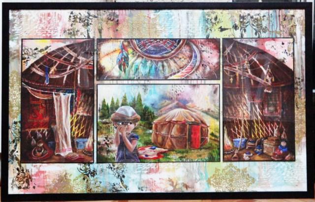 Выставка детских работ школы им. А.Кастеева «Фестиваль красок»