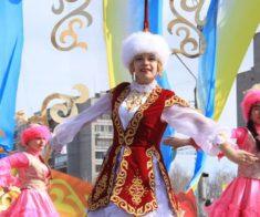 Общегородское празднование «Наурыз мейрамы» на площади «Астана»