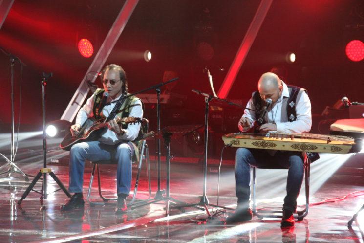 Концерт и джем-сейшн Японской группы Дэнся и казахской группы Роксонаки