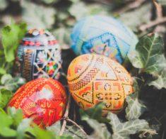 Мастер-класс «Мраморная покраска яиц и декупаж»