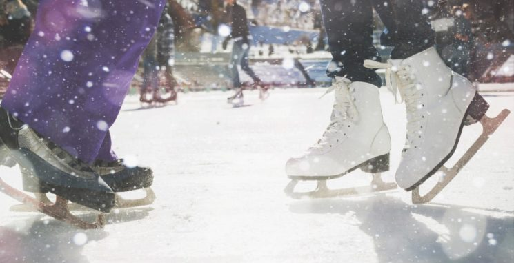 Бесплатные катания на коньках в преддверии Наурыза