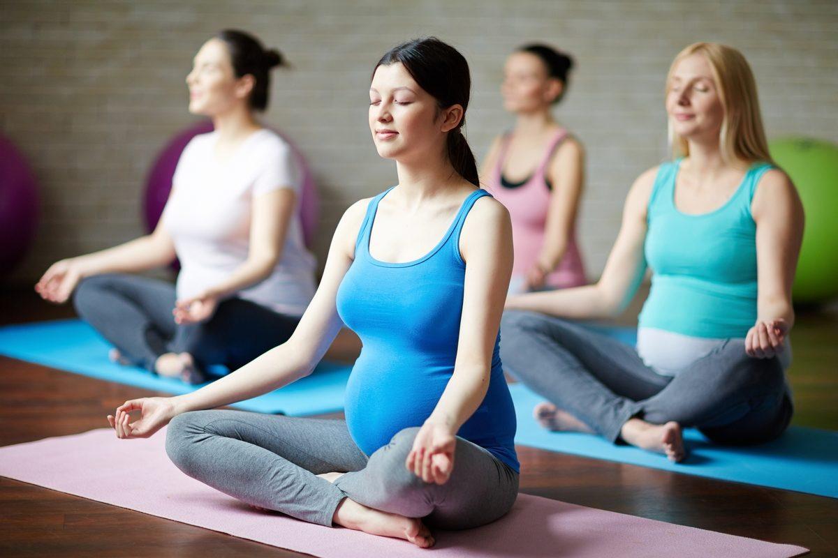 Вечерняя йога для беременных 51