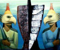 Художественная выставка «Последний герой»