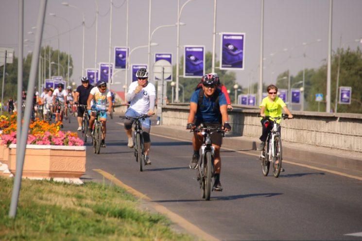 Второй масссовый велопробег