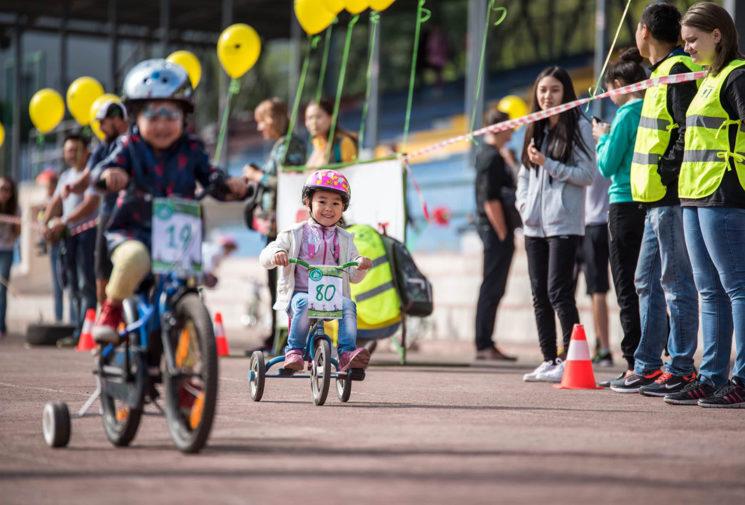 Чемпионат для веломалышей «Tour de Kids - 2018»