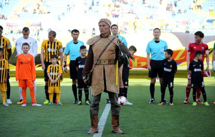 Футбол: Кайрат - Шахтер