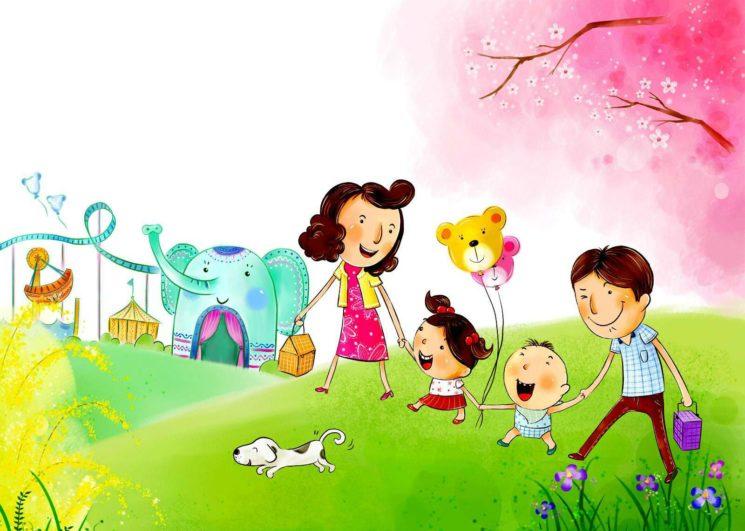 Праздник «Радуга детства» ко дню защиты детей