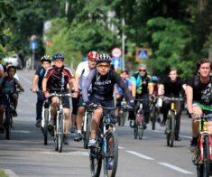 Массовый велопробег в честь 20-летия Астаны