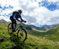 Открытие горного велопарка