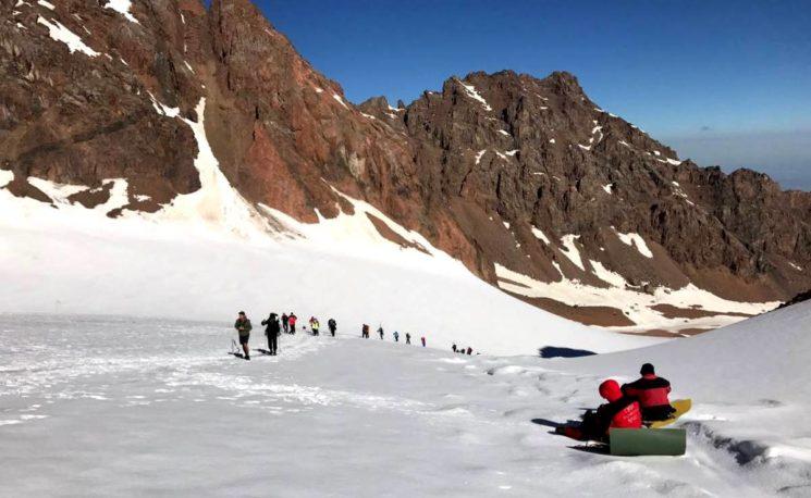Альпиниада «Пик Нурсултан 2018»