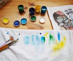 Мастер-класс для деток «Роспись футболок своими руками»
