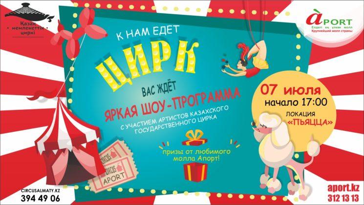 Цирк в молле Апорт