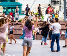 4-й сезон летних MEGA Salsa Open Air