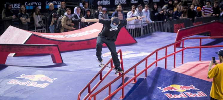 Red Bull Local Hero. Skateboard