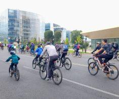Велопробег в честь Дня города Алматы