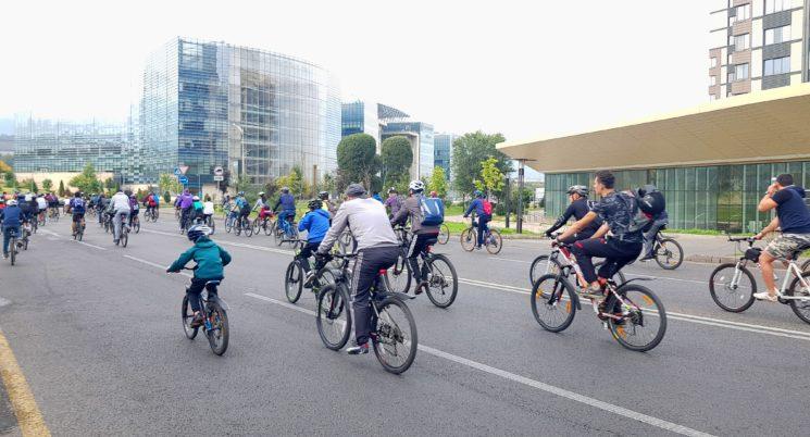 Четвертый осенний массовый велопробег