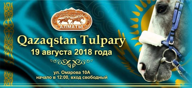 """Скачки на лошадях """"День Qazaqstan Tulpary"""""""