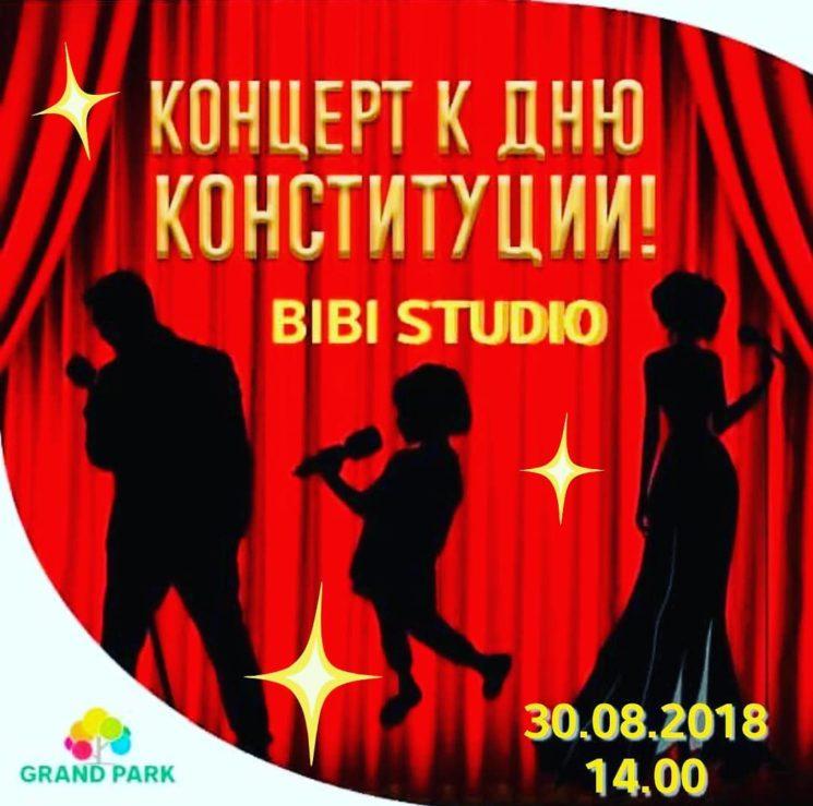 Праздничный концерт от музыкальной школы «BiBi studio»