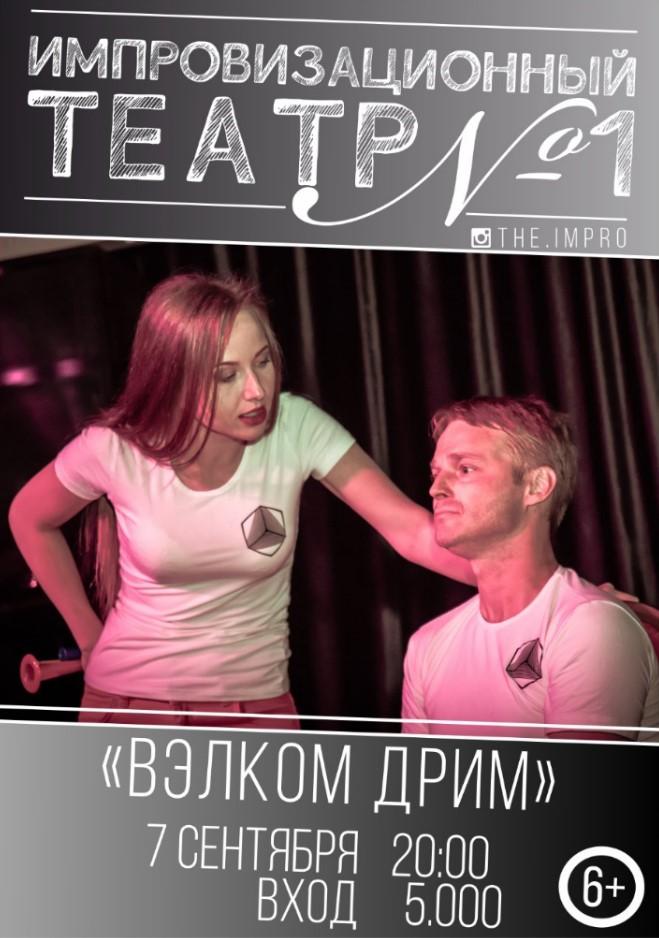 """Шоу - спектакль """"Велком дрим"""""""