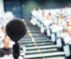 Мастер — класс по актерскому и ораторскому мастерству