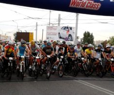 Велогонка Tour of World Class Almaty 2019
