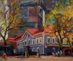 Персональная выставка Арсена Даутбаева