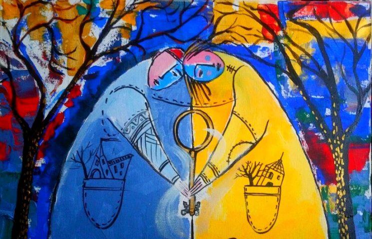 """Выставка живописи и графики учеников Георгия Макарова """"Тандем"""""""
