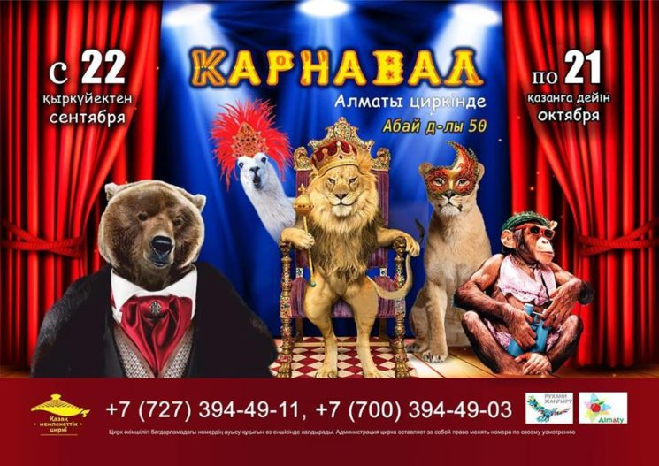 """Международная цирковая программа """"Карнавал"""""""