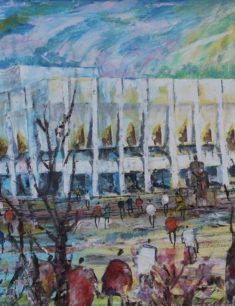 Персональная выставка Рахии Бибатыровой «Город мой Алма-Ата»