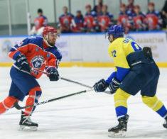 Открытый чемпионат Рк по хоккею. ХК «Алматы» —  ХК «Арлан»
