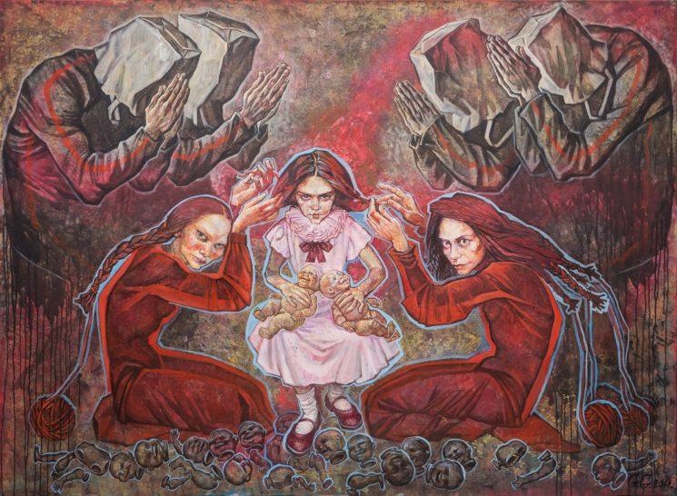 """Выставка Гули Громой """"Игра в равновесие"""""""