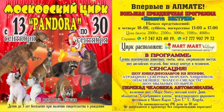 """Московский цирк """"Pandora"""""""