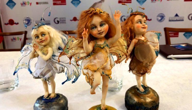 Вторая международная выставка кукол