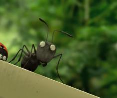 Показ мультфильма «Букашки»