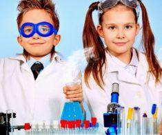 Детский мастер — класс «Химическое шоу»