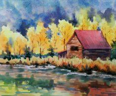 Выставка Анны Петраковой «Край, где я живу душой»