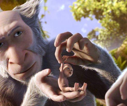 Показ мультфильма «Эволюция»