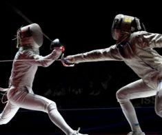Чемпионат Алматы по фехтованию