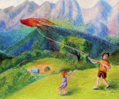 Выставка детских рисунков «Россия глазами ребенка»