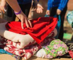 Благотворительная акция по сбору вещей для нуждающихся