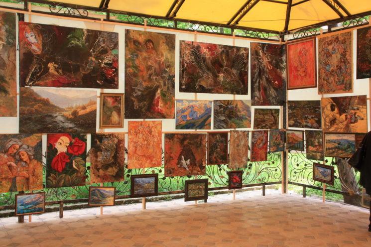 """Открытие Выставки """"Eski Shahar"""""""