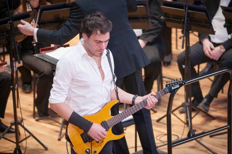 Концерт Вахтанга Торели «Теория струн»