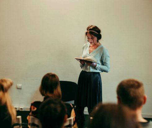 «Автор» поэтический вечер в театре ЛТЕ