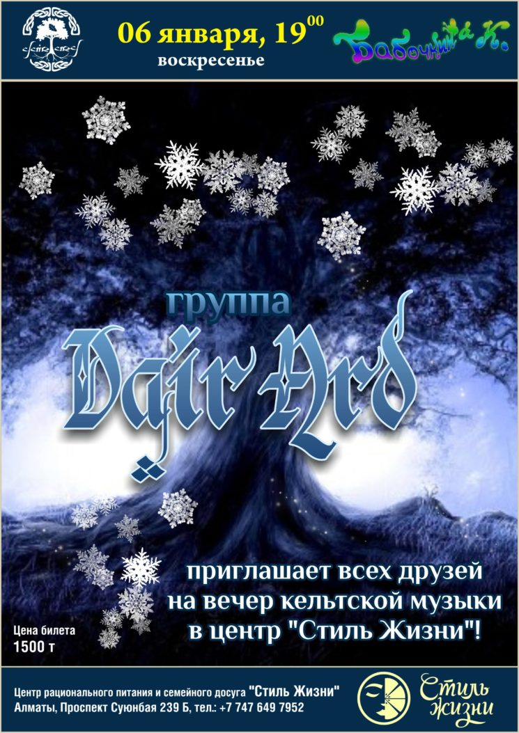 Концерт группы Dair Ard